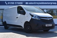 USED 2016 66 VAUXHALL VIVARO 1.6 2900 L2H1 CDTI P/V 1d 114 BHP NO DEPOSIT FINANCE AVAILABLE