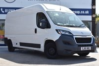 USED 2015 15 PEUGEOT BOXER 2.2 HDI 335 L3H2 PROFESSIONAL P/V 1d 130 BHP NO DEPOSIT FINANCE AVAILABLE