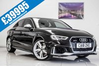 USED 2018 18 AUDI A3 2.5 RS 3 QUATTRO 4d AUTO 400 BHP Immaculate Condition Throughout - Low Miles - Great Performance - Amazing Value!!