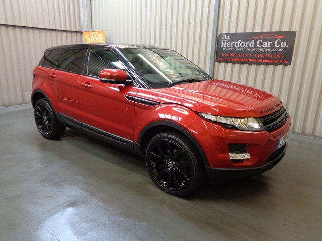 2013 63 LAND ROVER RANGE ROVER EVOQUE 2.2 SD4 PURE TECH 5d AUTO 190 BHP