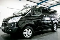 USED 2016 16 FORD TRANSIT CUSTOM 2.2 270 LIMITED LR P/V 1d 124 BHP
