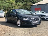 USED 2010 10 AUDI A3 1.6 TDI SPORT 5d 103 BHP FULL SERVICE RECORD (9 STAMPS) *  PARKING AID *  17 INCH ALLOYS *  1 PREVIOUS KEEPER *  MOT APRIL 2020 *