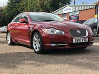 USED 2010 10 JAGUAR XF 3.0 V6 LUXURY 4d AUTO 240 BHP NAVIGATION SYSTEM +   BLUETOOTH +  LEATHER TRIM +   PARKING AID +  18 INCH ALLOYS +  CLIMATE CONTROL +
