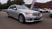 2010 MERCEDES-BENZ C CLASS 2.1 C220 CDI BLUEEFFICIENCY SPORT 5d 170 BHP £5995.00