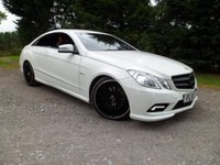 USED 2010 10 MERCEDES-BENZ E CLASS 3.0 E350 CDI BLUEEFFICIENCY SPORT 2d AUTO 231 BHP STUNNING LOOKING VEHICLE. OVER £7K OF OPTIONS FITTED. RED LEATHER. SAT NAV. JUST SERVICED . 4 NEW TYRES