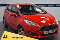 USED 2017 17 FORD FIESTA 1.25 82 Zetec 5dr (£500 CASH BACK - ONLY 8,000 MILES)