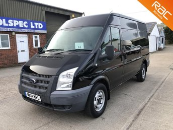 2014 FORD TRANSIT 2.2 350 MWB MED ROOF FWD 100 BHP LOW MILEAGE £7500.00