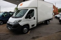 USED 2014 14 CITROEN RELAY 2.2 35 L3 HDI 129 BHP LUTON VAN WITH TAIL LIFT