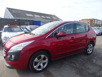 USED 2010 10 PEUGEOT 3008 1.6 SPORT LOW MILES DRIVES A1