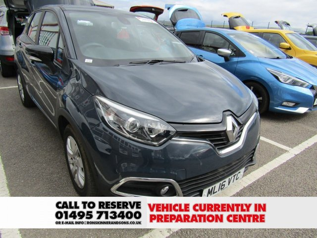 View our 2016 16 RENAULT CAPTUR 1.5 EXPRESSION PLUS DCI 5d 90 BHP