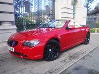 2007 BMW 6 SERIES 3.0 630I SPORT 2d 255 BHP £9995.00