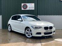 USED 2014 64 BMW 1 SERIES 2.0 116D M SPORT 5d 114 BHP