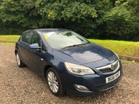 2012 VAUXHALL ASTRA 1.6 EXCLUSIV 5d 113 BHP £3785.00