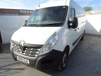 2015 RENAULT MASTER 2.3 LM35 BUSINESS DCI S/R P/V 1d 125 BHP £10995.00