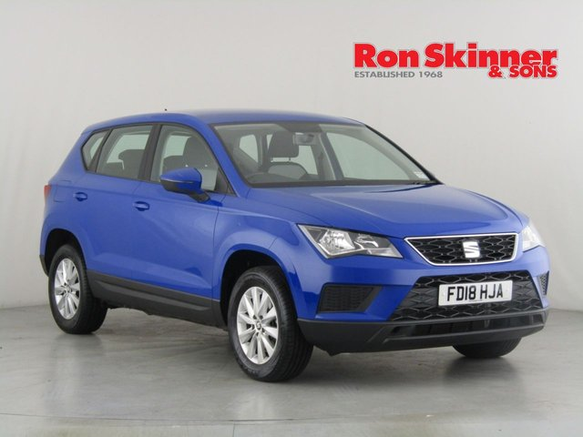 View our 2018 18 SEAT ATECA 1.0 TSI ECOMOTIVE S 5d 114 BHP