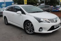 USED 2014 64 TOYOTA AVENSIS 2.0 D-4D ICON 5d 124 BHP