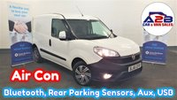 2016 FIAT DOBLO 1.3 16V SX MULTIJET in White with Air Conditioning, Bluetooth, Rear Parking Sensors, Front Fog Lamps, Sliding Door and more £5480.00