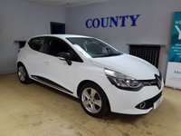 USED 2014 64 RENAULT CLIO 1.5 DYNAMIQUE MEDIANAV ENERGY DCI S/S 5d 90 BHP * TWO OWNERS WITH HISTORY *
