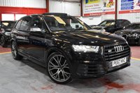 2017 AUDI SQ7 4.435 V8 BLACK EDTION 7SEATS AUTO BLACK PAN ROOF 435PSI £54495.00