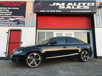 2012 AUDI A4 2.0 TDI SE TECHNIK 4d AUTO 141 BHP £7500.00