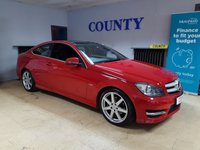 USED 2011 T MERCEDES-BENZ C CLASS 2.1 C220 CDI BLUEEFFICIENCY AMG SPORT ED125 2d AUTO 170 BHP * TWO OWNERS * SUPERB SPEC *