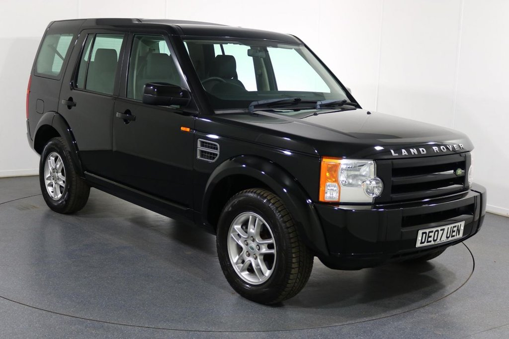USED 2007 07 LAND ROVER DISCOVERY 2.7 3 TDV6 GS 7 SEATER 5d 188 BHP
