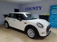 USED 2015 15 MINI HATCH ONE 1.2 ONE 5d 101 BHP * ONE OWNER WITH HISTORY *