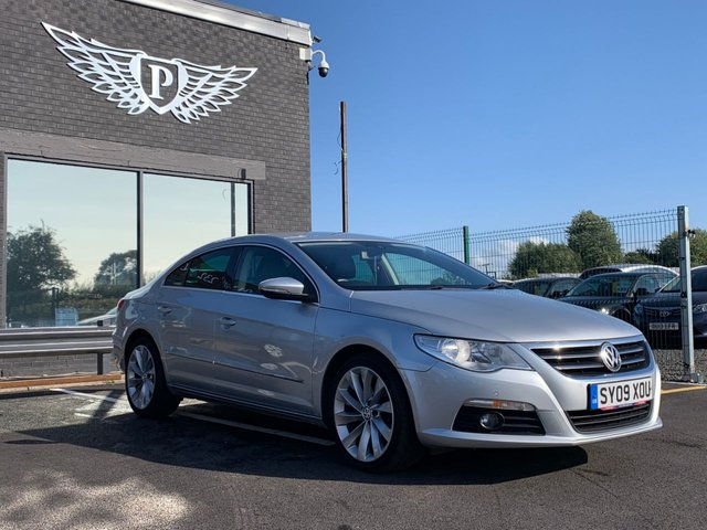 USED 2009 09 VOLKSWAGEN PASSAT 2.0 CC GT TDI DSG 4d AUTO 170 BHP AA WARRANTY,  MOT AND SERVICE INCLUDED