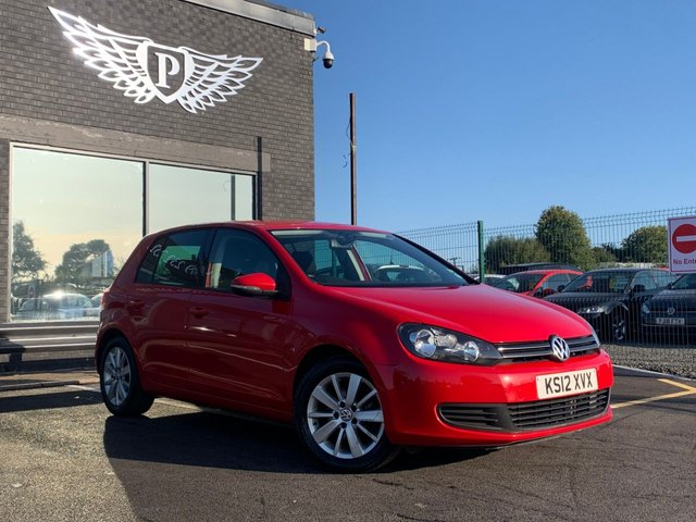 USED 2012 12 VOLKSWAGEN GOLF 1.6 MATCH TDI 5d 103 BHP AA WARRANTY,  MOT AND SERVICE INCLUDED