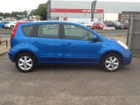 USED 2007 57 NISSAN NOTE 1.4 ACENTA 5d 88 BHP * NISSAN HISTORY * 82000 MILES, NISSAN HISTORY, 2 OWNERS FROM NEW