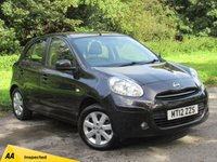USED 2012 12 NISSAN MICRA 1.2 ACENTA 5d 79 BHP LOW MILEAGE STARTER CAR
