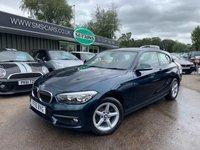 2016 BMW 1 SERIES 1.5 116D SE 3d AUTO 114 BHP £11489.00