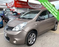 2011 NISSAN NOTE 1.4 N-TEC 5d 87 BHP *ONLY 45,000 MILES* £3795.00