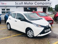 USED 2016 16 TOYOTA AYGO 1.0 VVT-I X 5 door