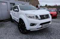 USED 2019 19 NISSAN NP300 NAVARA Tekna Double Cab 4WD 2.3 dCi Auto ( 190 bhp ) One Owner 1,800 miles £6k Conversion Wide Track Look As New Best Looking Pick Up