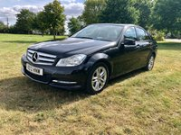 USED 2012 12 MERCEDES-BENZ C CLASS 1.6 C180 BLUEEFFICIENCY EXECUTIVE SE 4d 154 BHP