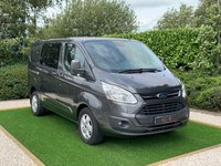 USED 2018 18 FORD TRANSIT CUSTOM 2.0 310 LIMITED LR DCB 1d 168 BHP
