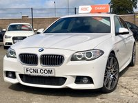 USED 2013 BMW 5 SERIES 2.0 520D M SPORT 4d AUTO 181 BHP  *FULL YEAR MOT*