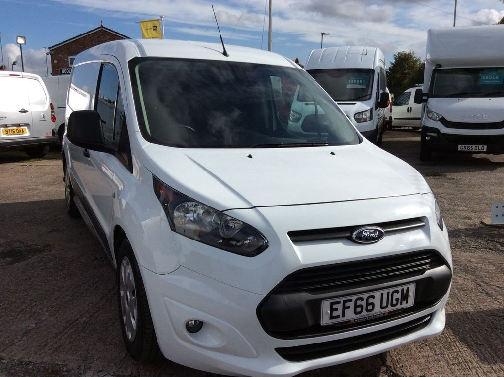 USED 2016 66 FORD TRANSIT CONNECT 1.5 210 L2 TREND 100 BHP 1 OWNER FSH NEW MOT FREE 6 MONTHS AA WARRANTY INCLUDING RECOVERY AND ASSIST NEW MOT EURO 6 SPARE KEY ELECTRIC WINDOWS AND MIRRORS BLUETOOTH 3 SEATS