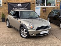 USED 2007 07 MINI HATCH ONE 1.4 ONE 3d 94 BHP