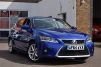 USED 2014 64 LEXUS CT 1.8 200H ADVANCE 5d AUTO 134 BHP We are selling and more Hybrids lately so now is the time to join in! A very attractive CT200H Advance with only 52622 miles. 5 Lexus stamps in the book with the last one at 45884 miles in October 2018.2 Keys.