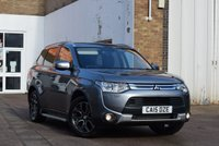 USED 2015 15 MITSUBISHI OUTLANDER 2.3 DI-D GX 4 5d 147 BHP Just 29000 miles on this 7 SEAT 2015 Mitsubishi Outlander 2.3did GX-4 5dr 4x4 in Grey metallic with a black full leather interior.