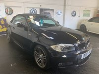 USED 2013 13 BMW 1 SERIES 2.0 118D SPORT PLUS EDITION 2d CONVERTIBLE 141 BHP