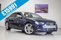 USED 2012 62 AUDI A4 3.0 S4 QUATTRO 4d AUTO 329 BHP September 2020 MOT & Just Been Serviced