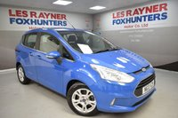 USED 2013 13 FORD B-MAX 1.0 ZETEC 5d 100 BHP Full Service history, DAB Radio, Air conditioning, Quick clear screen