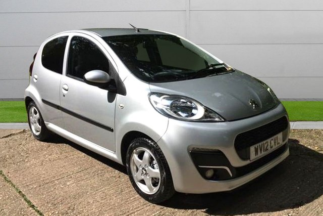 USED 2012 12 PEUGEOT 107 1.0 ALLURE 5d AC 68 BHP LOW MILEAGE, AIR CON, FINANCE ME TODAY-UK DELIVERY POSSIBLE