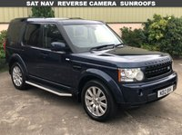 2012 LAND ROVER DISCOVERY 3.0 4 SDV6 HSE 5d AUTO 255 BHP £17850.00