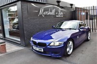 USED 2007 07 BMW Z4M 3.2 Z4 M COUPE 2d 338 BHP INTERLAGOS BLUE - 2 PREVIOUS KEEPERS - 11 BMW SERVICES ALL THE WAY TO 100K MILES - STUNNING APPRECIATING ASSET