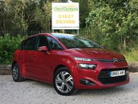 USED 2015 65 CITROEN C4 PICASSO 1.6 BLUEHDI EXCLUSIVE 5dr Sat Nav, £0 Road Tax
