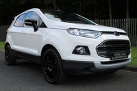USED 2016 66 FORD ECOSPORT 1.0 TITANIUM S 5d 138 BHP A GREAT LOOKING 1 OWNER ECOSPORT WITH FORD SERVICE HISTORY!!!